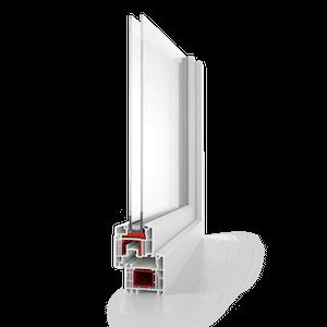 Favorit Kunststofffenster System Aluplast von STOLMA AL08